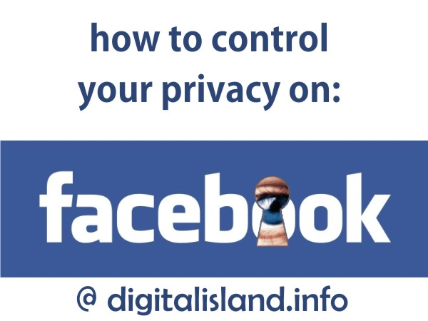How to control your privacy on Facebook